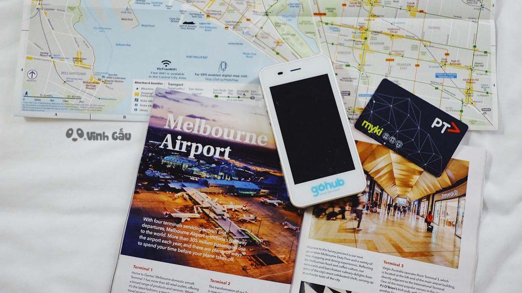 sim du lịch và cục phát wifi gohub