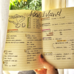 Bullet Journal Travel Plan