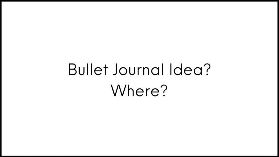 Ý tưởng Bullet Journal